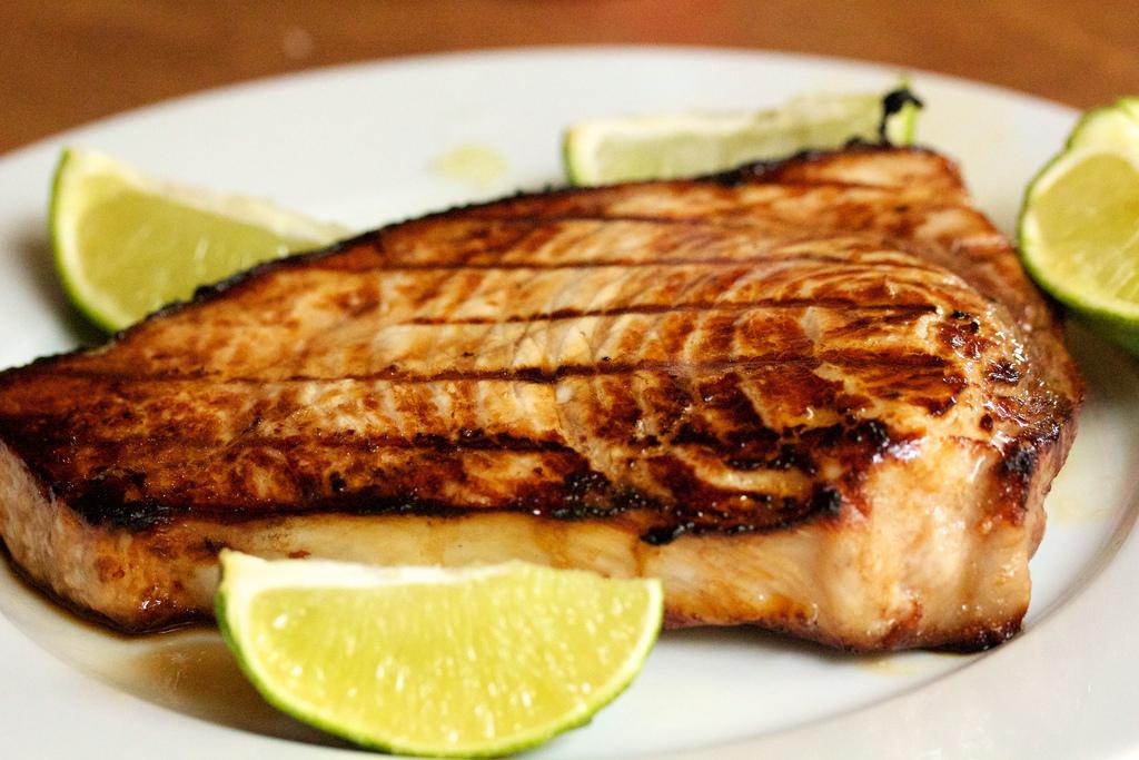 Lion Premium Grills - Grilled Swordfish