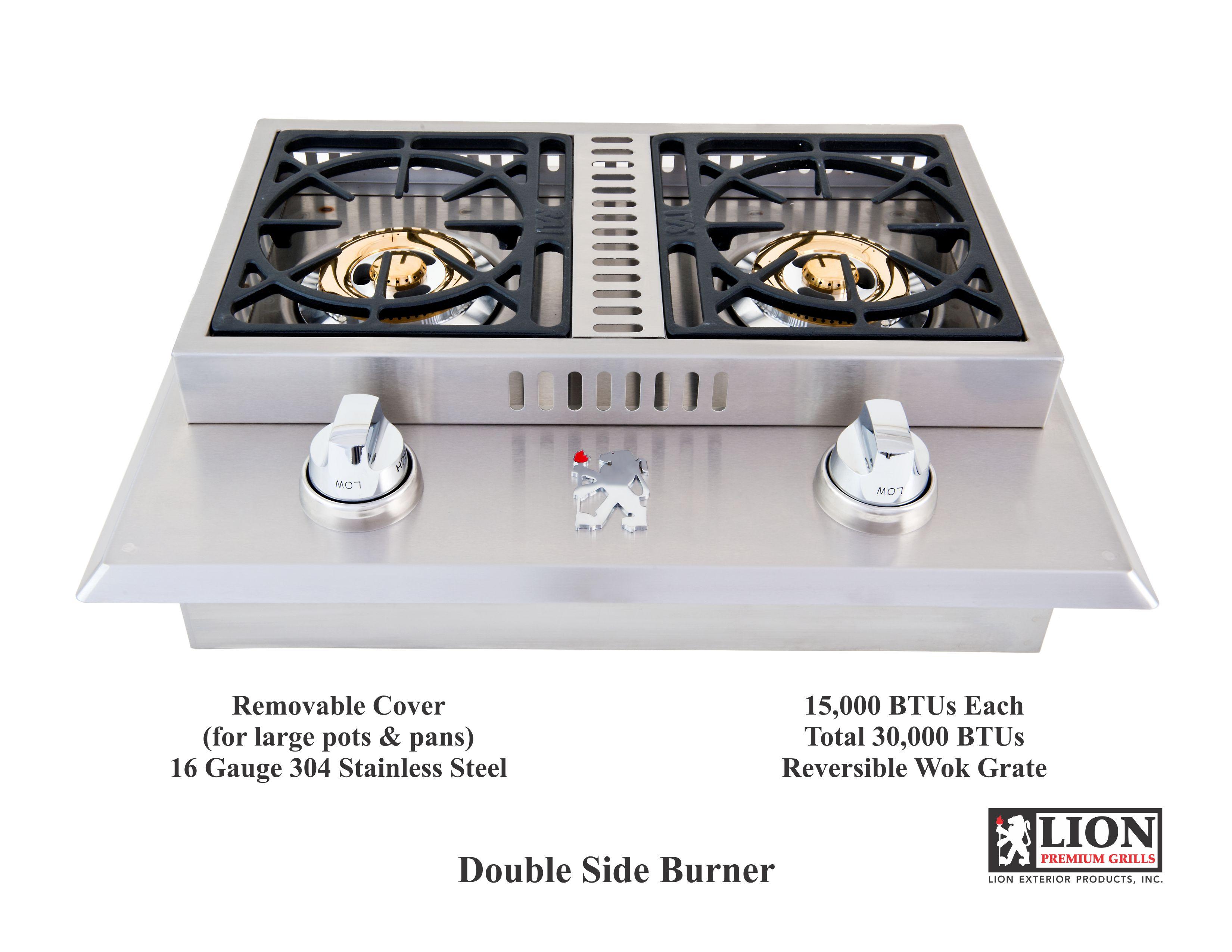 Double Side Burner