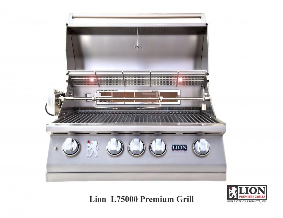 L75000 BBQ Grill @ Lion Premium Grills