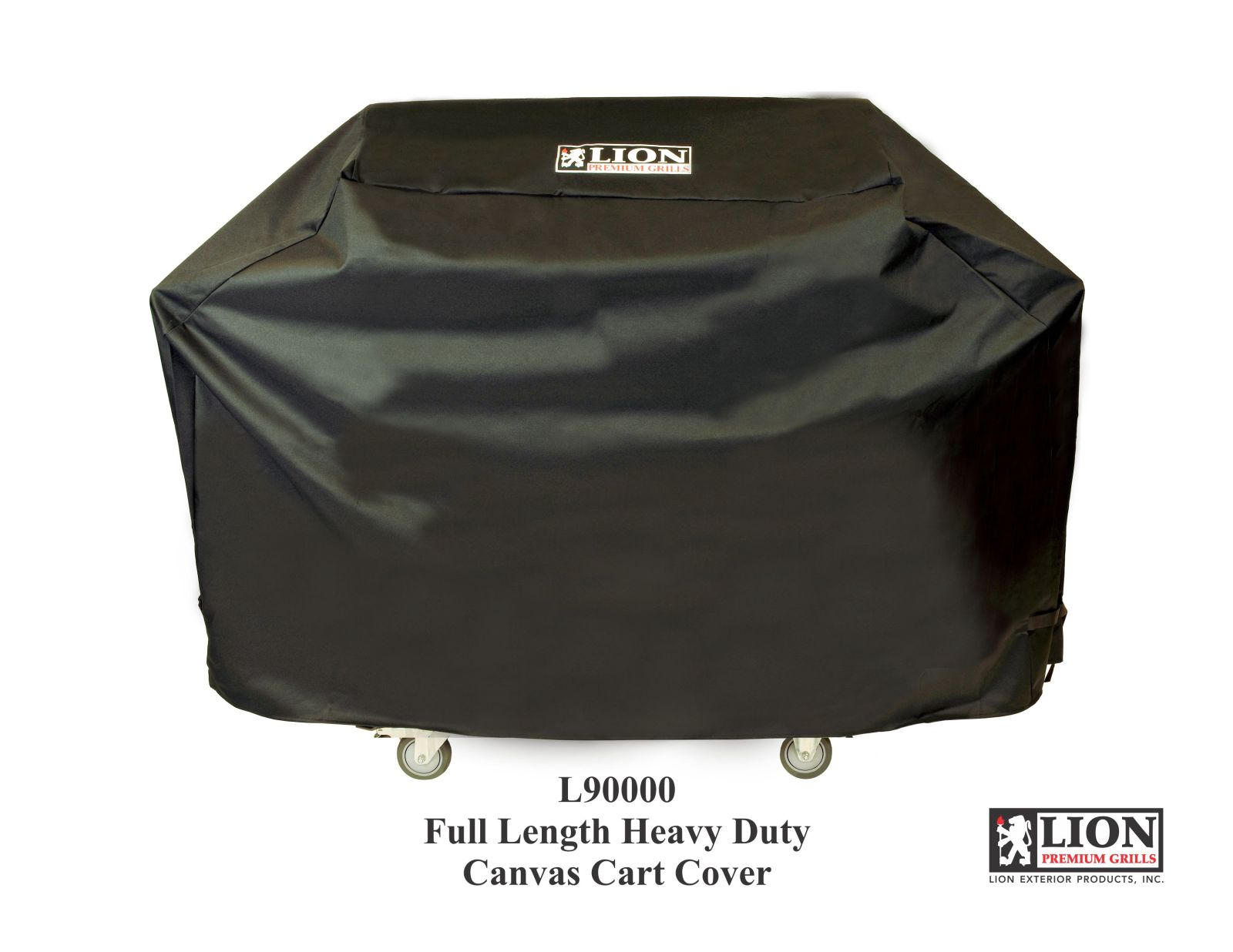 Lion Premium Grills Black Full Length Cart Cover For L90000 Grill - CC506723