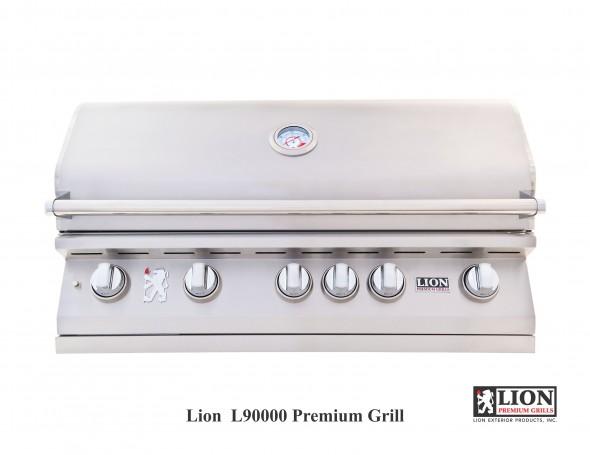 L90000 BBQ Grill @ Lion Premium Grills