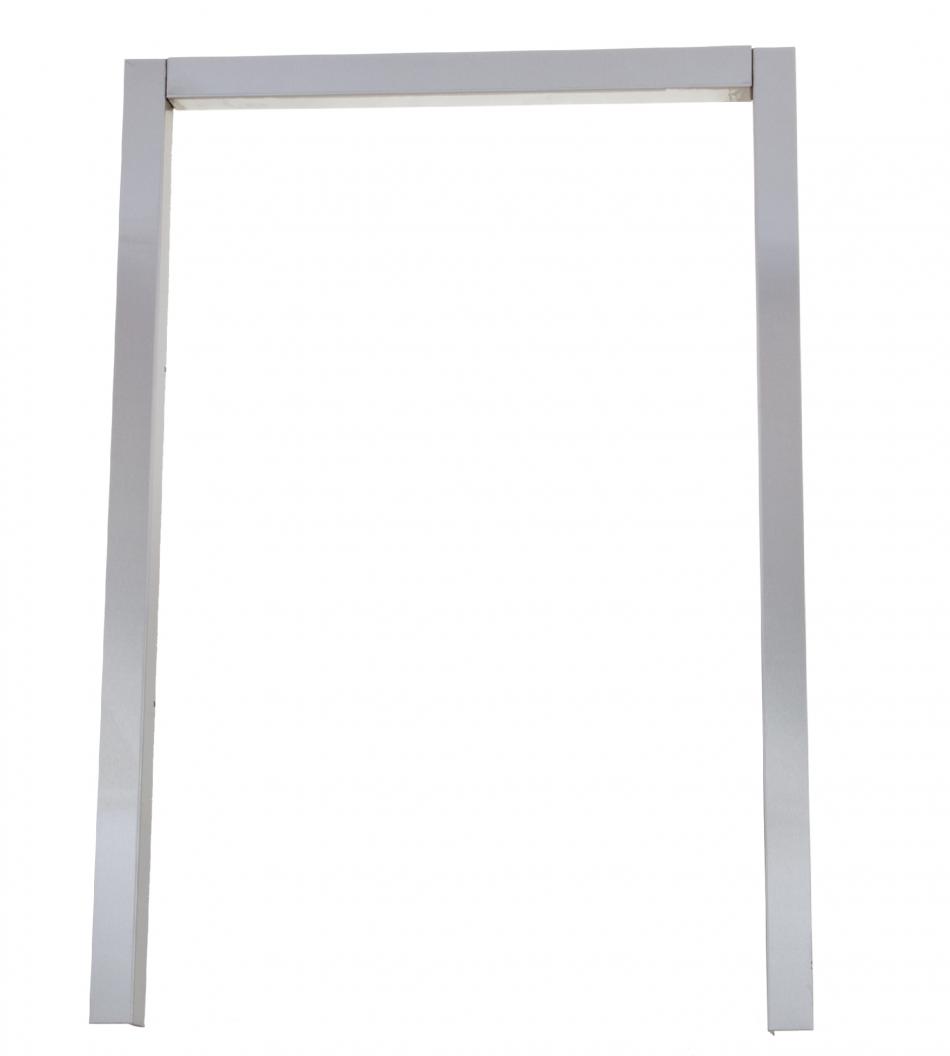 Outdoor Kitchen Frames: BAJAGRILLS Refrigerator Stainless Frame,Outdoor Kitchen 34