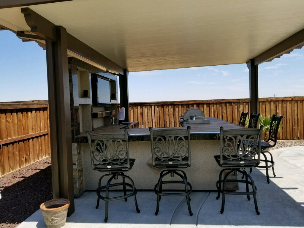 Island built by Outdoor Entertainment Designs