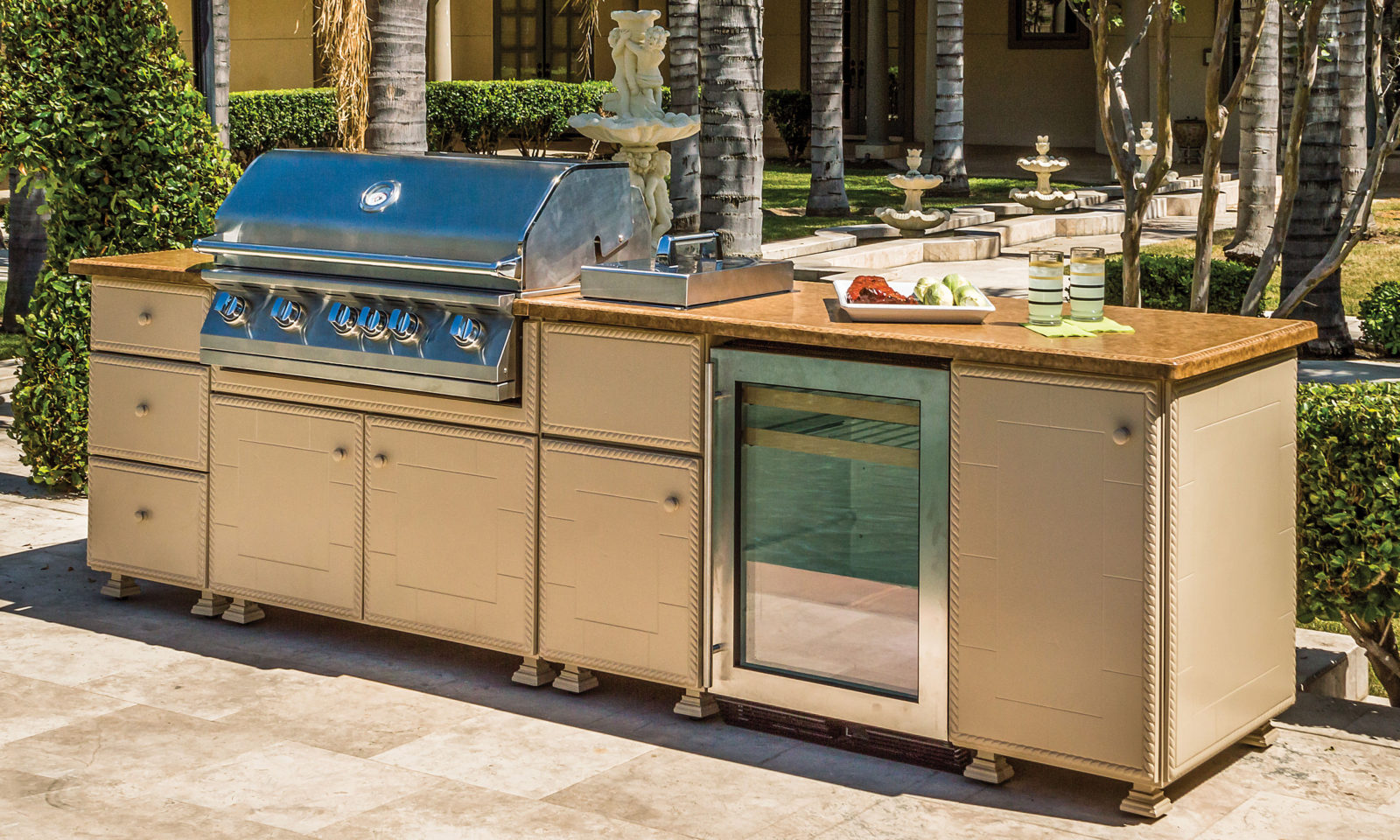 Outdoor Kitchen Carts And Islands