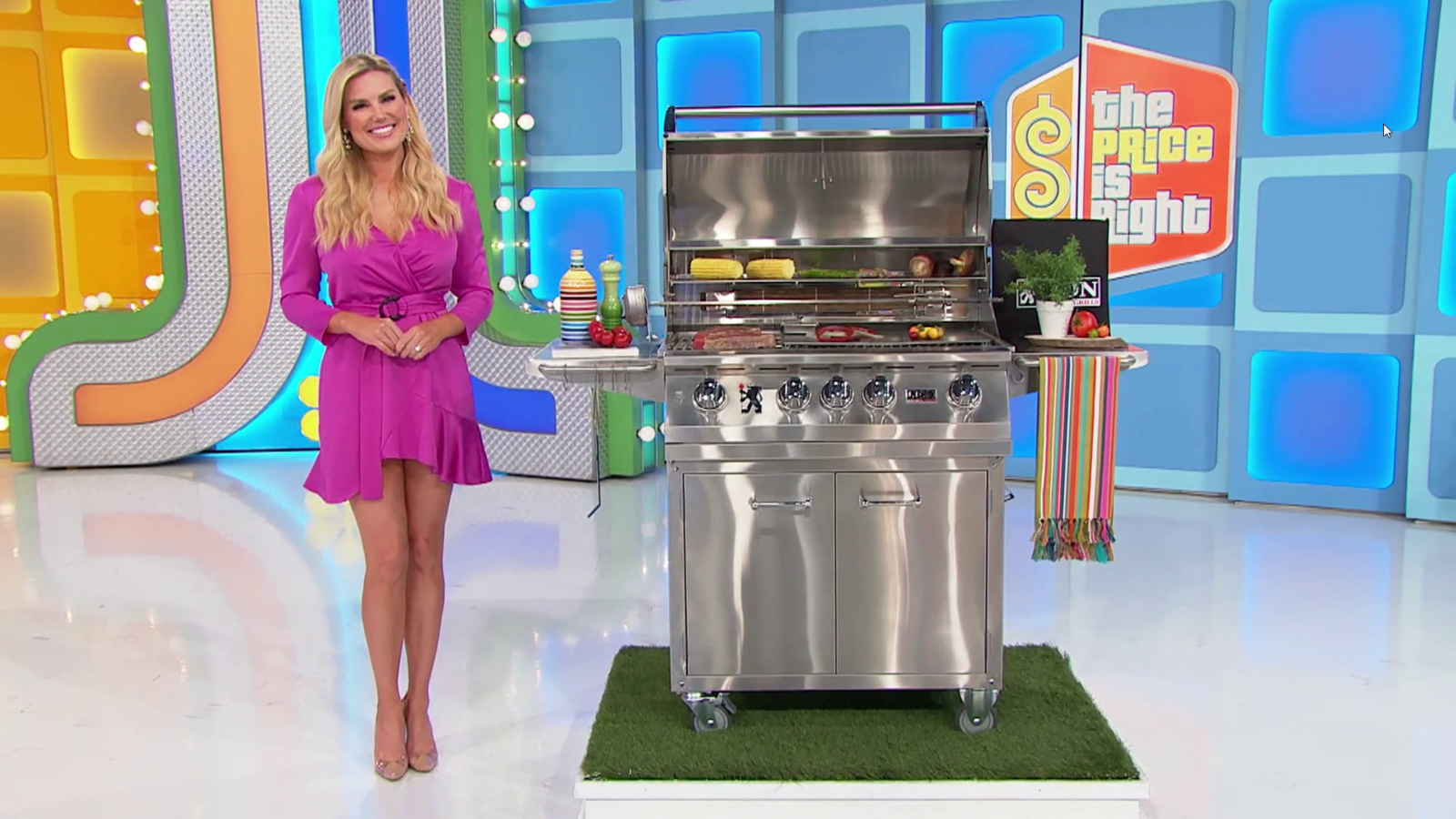 Lion Grills on The Price is Right